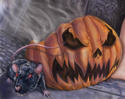 Rat helloween por AbelPortillo