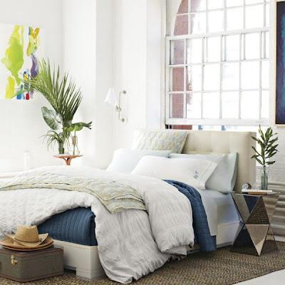 Habitación fresca y acogedora