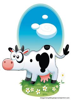 Animales de granja para imprimir