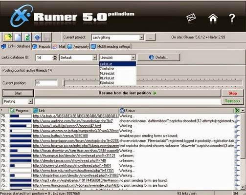 Xrumer 3.0 nulled скачать 9514 hello and bye xrumertest