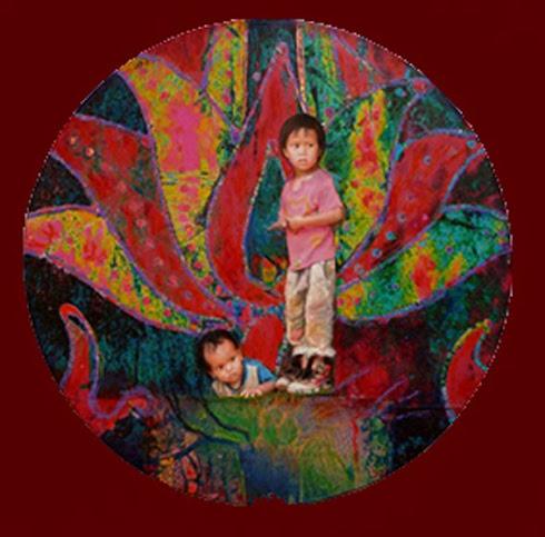 Niños Loto - Mandala
