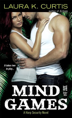 Bea's Book Nook, Review, Mind Games by Laura K. Curtis, romantic suspense