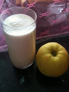 Batido de Manzana para bajar de peso