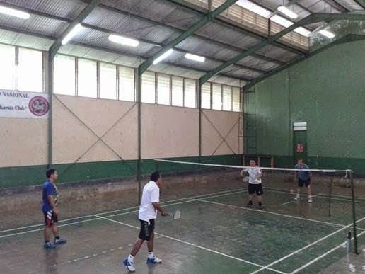 Bangun Silaturahmi, Camat Bojongsari Gelar Olahraga Bersama