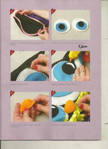 Moldes capa para notebook de coruja