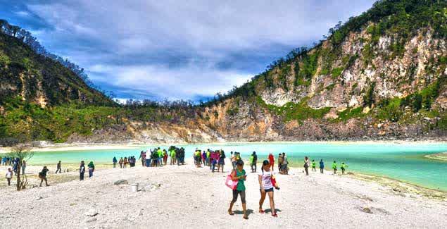 Kawah Putih Ciwidey Tempat Wisata Bandung