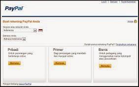 Cara Mendaftar Paypal Tanpa Menggunakan Kartu Kredit