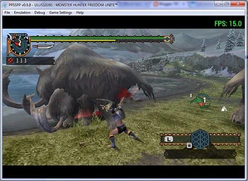 Cara Main Game PSP Di Windows Dengan PPSSPP