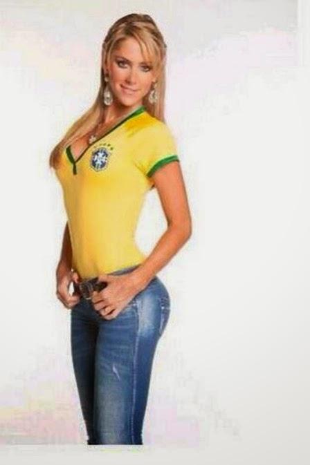 Musa da Copa das Confederações e candidata ao posto na Copa do Mundo