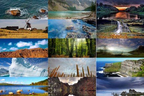 Los colores de nuestro planeta V (15 paisajes naturales)
