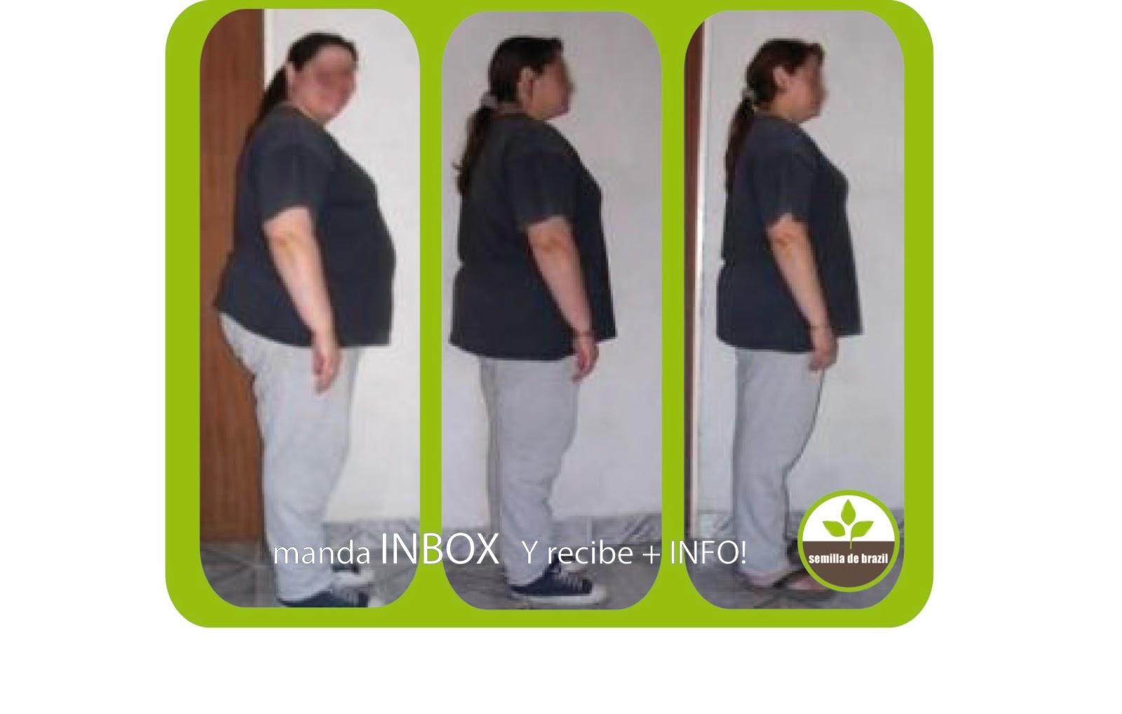 Que sirve para bajar de peso natural bien, quien decida