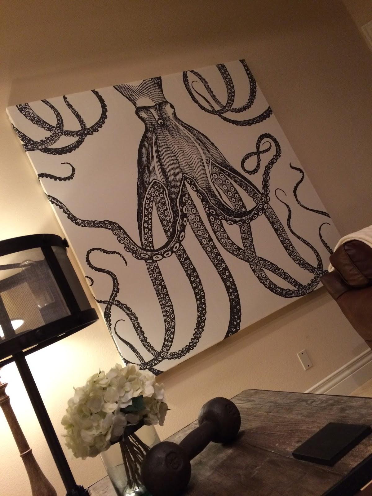 Kati Heifner: How To: Shower Curtain Wall Art
