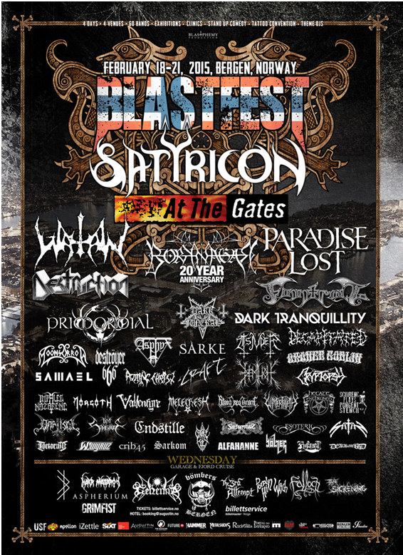 Buy BLASTFEST 2015 Tickets Below