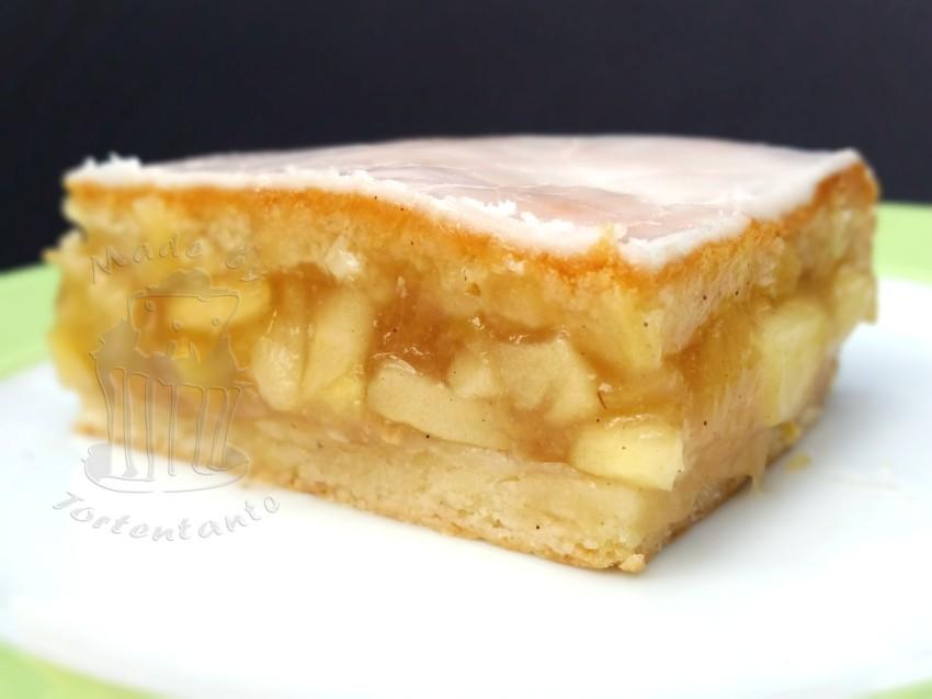 Kuchen gedeckter apfelkuchen vom blech