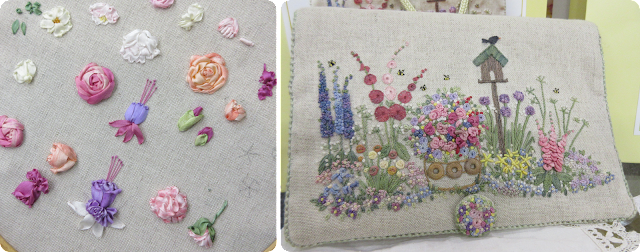 Lorna Bateman Embroidery - Knitting and Stitching Show