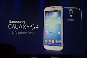 The Galaxy S 4 is Samsung's shot at a number of competitors, including the .