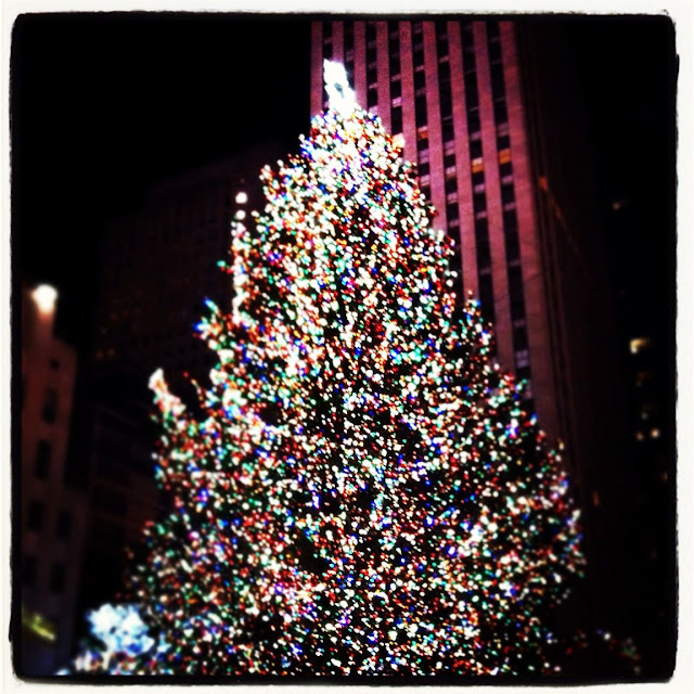 Mommy Testers #LoveThisCity #cbias Rockefeller Center Christmas Tree New York