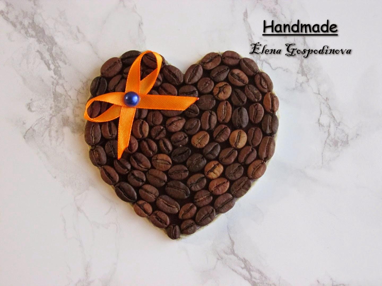 Магниты из кофейных зерен своими руками фото