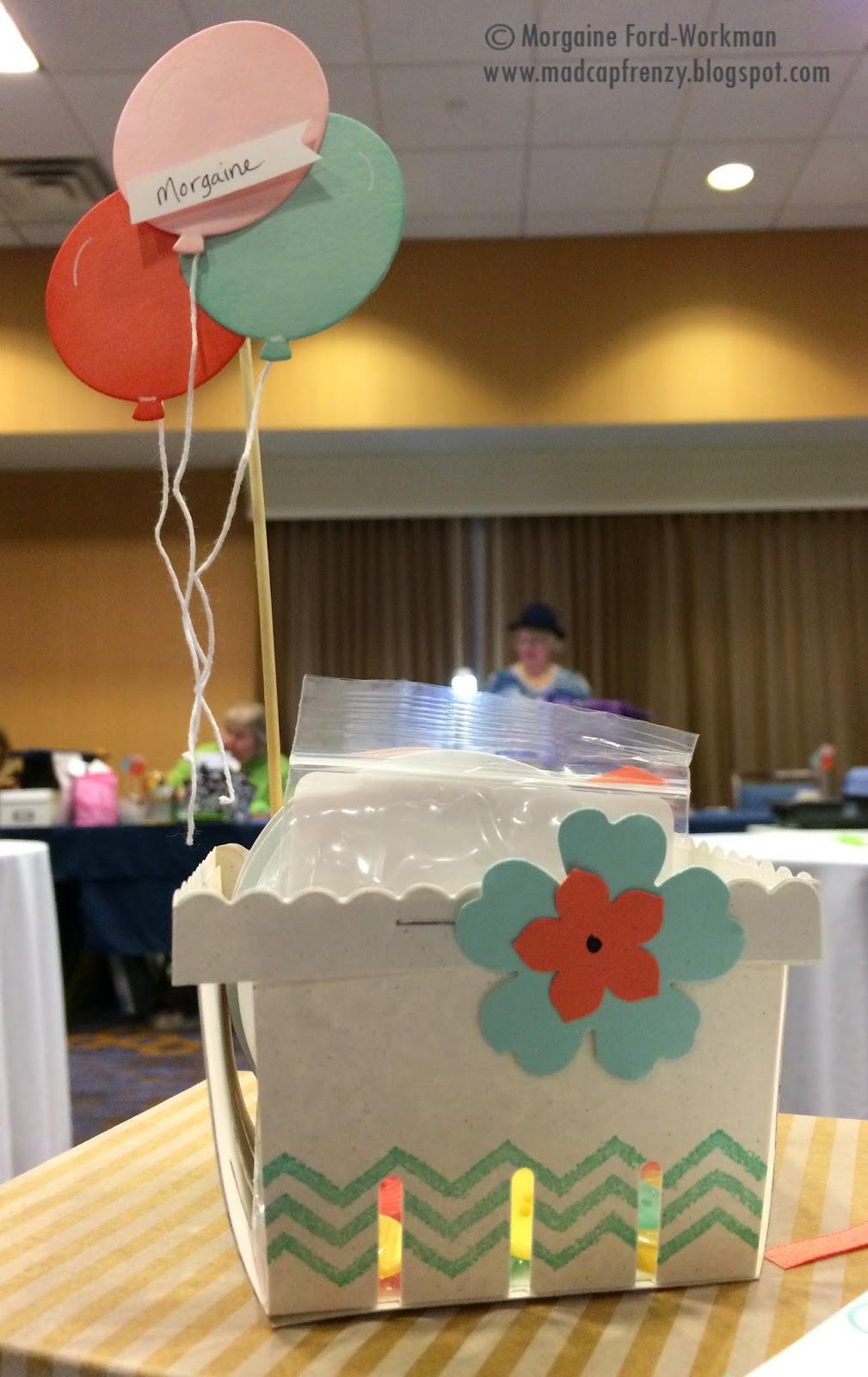 Madcap Frenzy Stampin Up! Birthday papercrafts