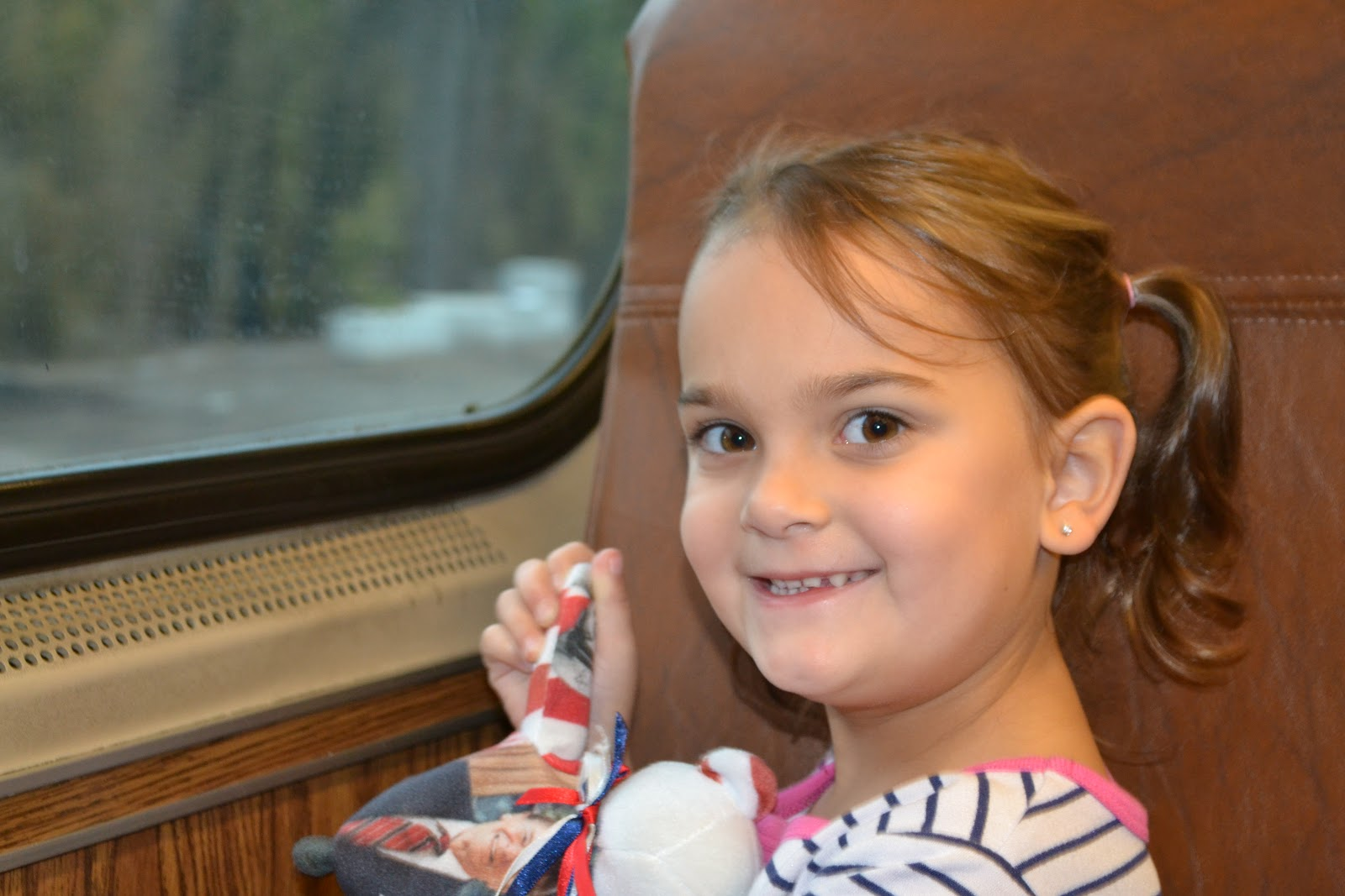 Samara took her first train ride to NYC and we went with my friend Selena and her daughter Jenna.