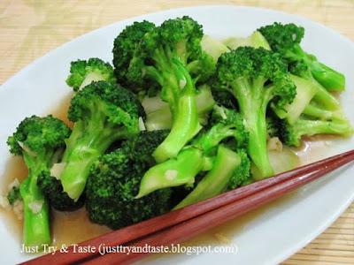 Brokoli Ca Bawang Putih