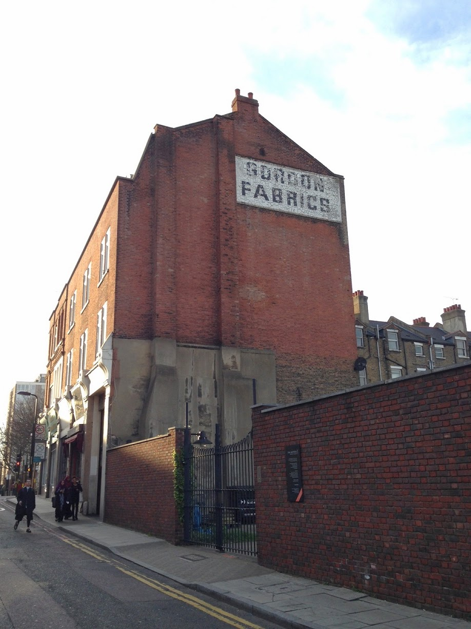 Ghost sign, Hoxton, London