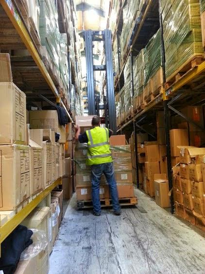 Rowlinson textiles warehouse