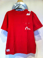 evisu tube t-shirt