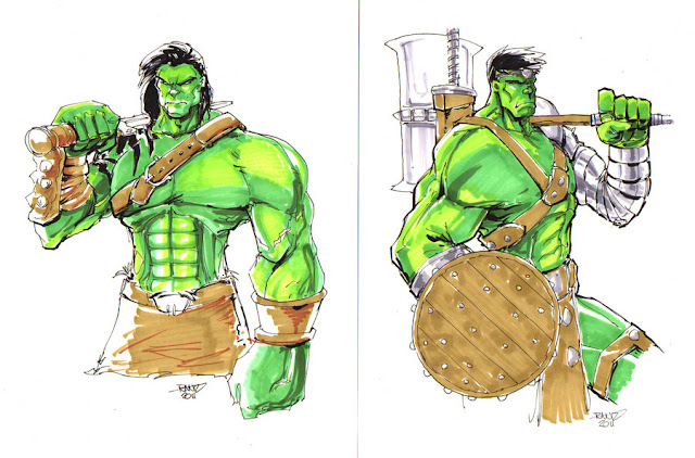 Planet Hulk Skaar Commisisons por rantz