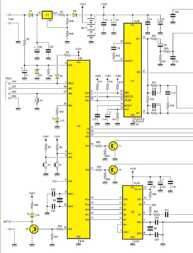 Detecteur de metaux micro schema electronique schema electrique et realisation montage electronique - Schema d implantation electrique ...