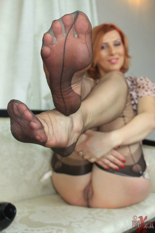 Thrust deep inside her pussy