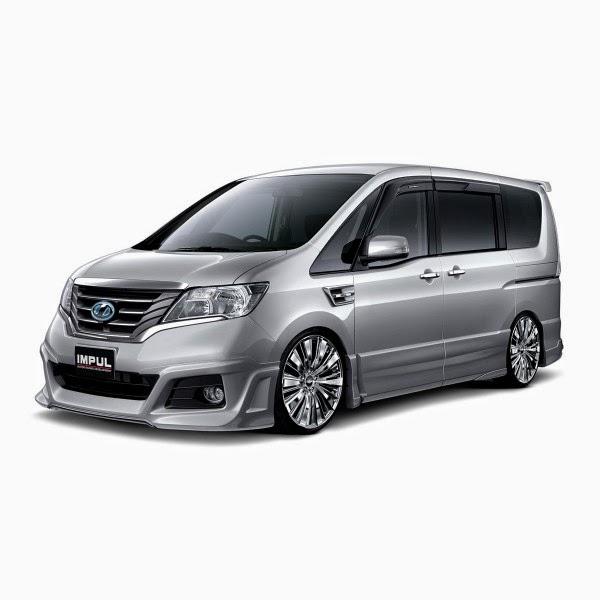 Body Kit Nissan Serena Impul 2013-2014