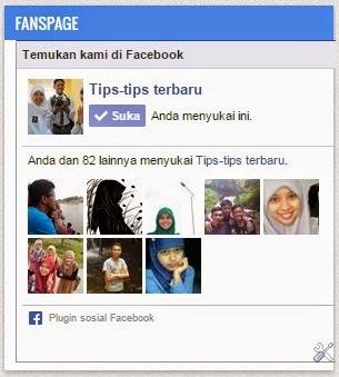 Tips Cara Membuat Dan Memasang Fans Page Facebook di Blog