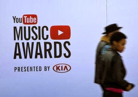 """""""YouTube Music Awards"""" winners"""