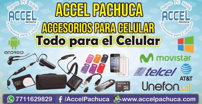 ¿Buscas accesorios para celulares en pachuca? visita www.accelpachuca.com