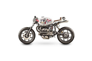 BMW R80 Cafe Racer  by Tattoo Moto