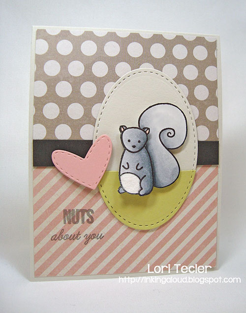 Nuts About You-designed by Lori Tecler/Inking Aloud-stamps from Sweet Stamp Shop
