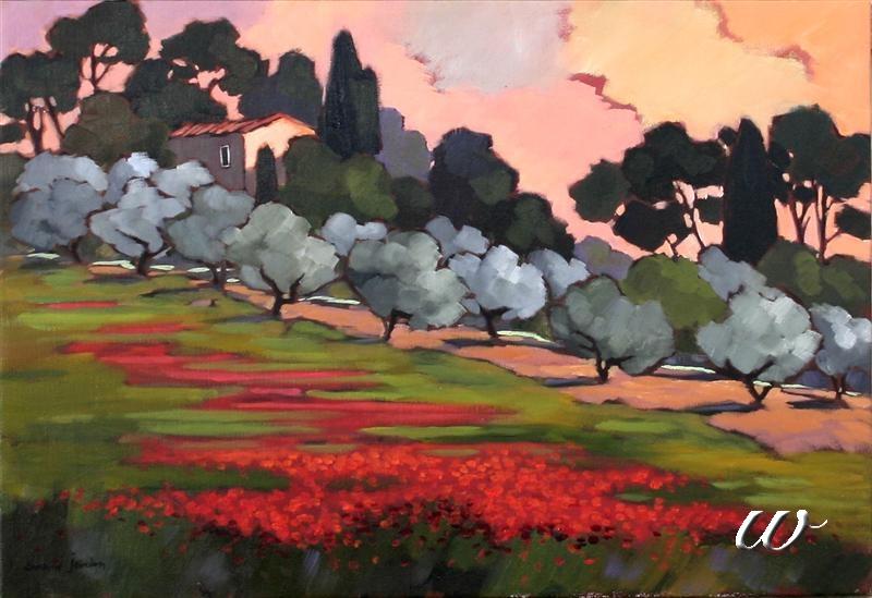 Lorraine Jordan A Colorful Seduction Seattle Fine Art