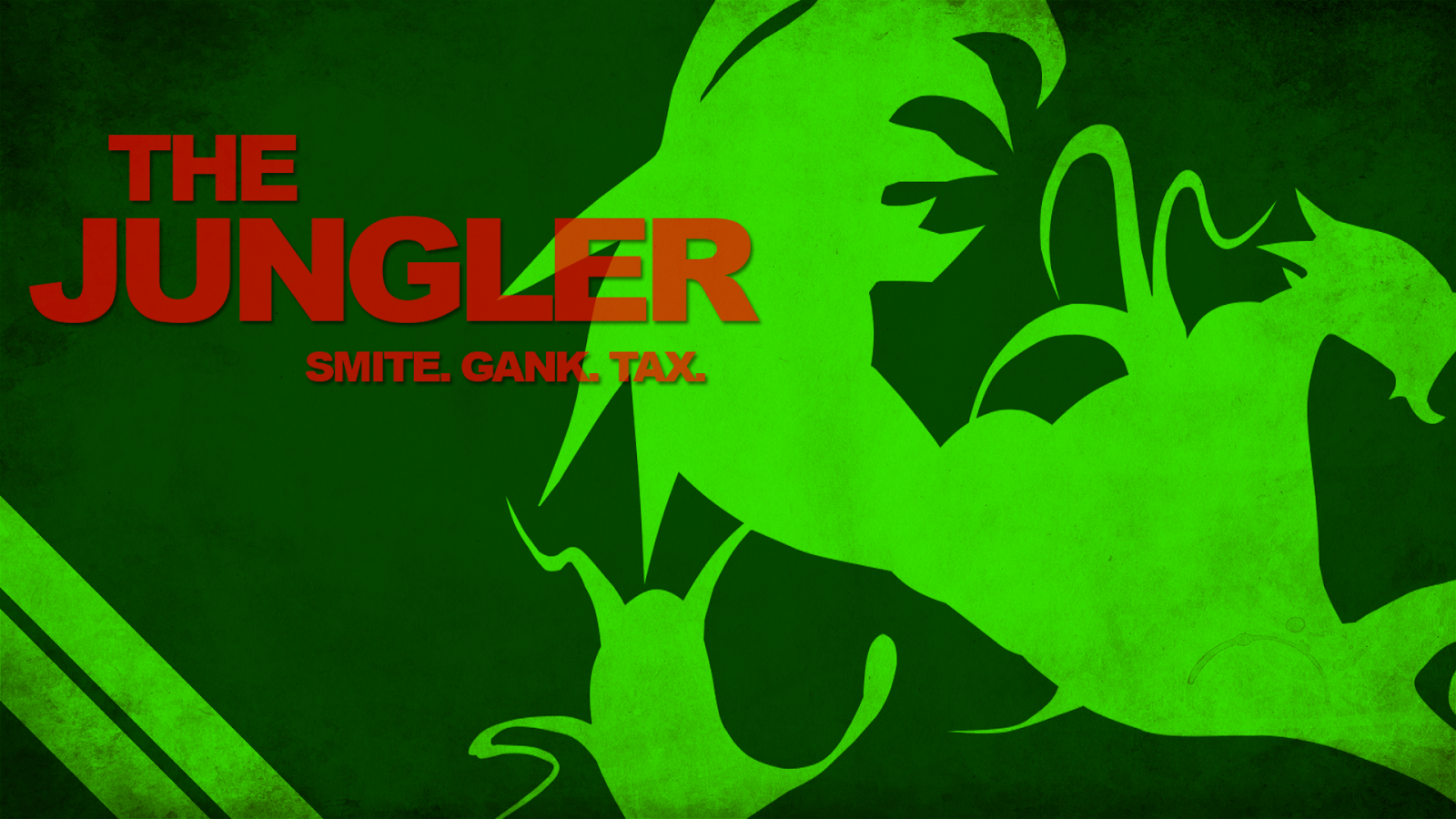Lol Jungler Wallpaper in Fact to be a Jungler is a