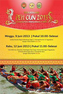 festival dayung perahu naga peh cun 2013 jogja