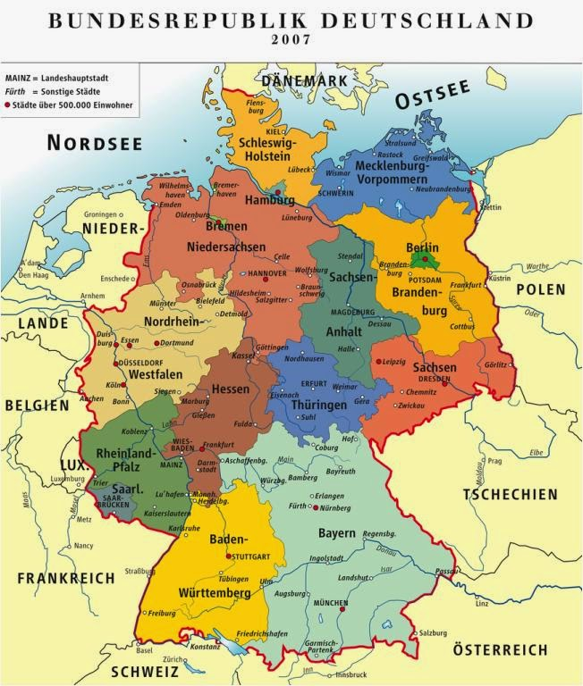The Kingdom Of Hesse Seewald Possible New Map Of Imaginary Germany - Germany map 2015