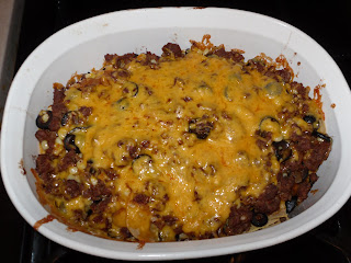 Layered Mexicali Casserole
