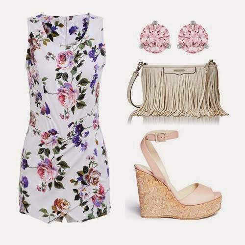 Printed Outfits Set For Spring.