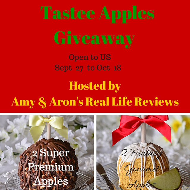 Enter the Tastee Apples Giveaway. Ends 10/18