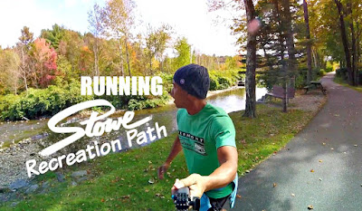 Running Stowe Recreation Path - Running Trail Stowe Vermont - Running in Stowe