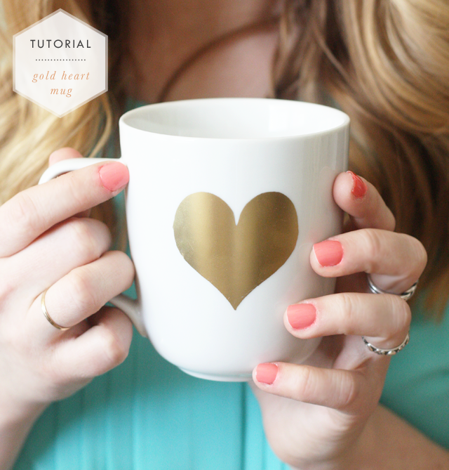 mug, DIY, tutorial, gold, easy, quick, art, crafty