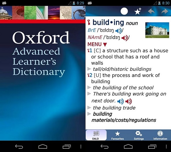 dictionary for learners of english oxford online