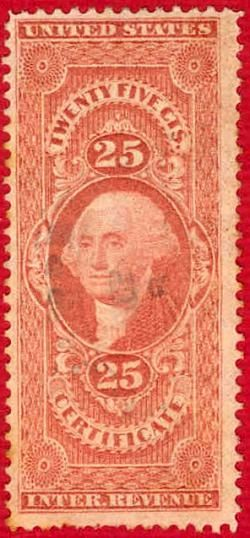 My American Revenue Stamps