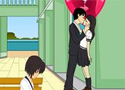 juego Besos despues de la escuela