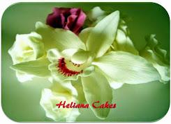 Orquídea feita a mão.